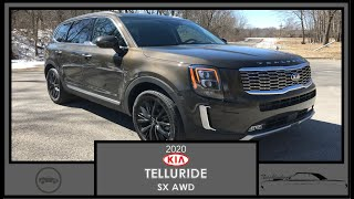 2020 Kia Telluride SX V6 AWD|Walk Around Video|In Depth Review|Test Drive