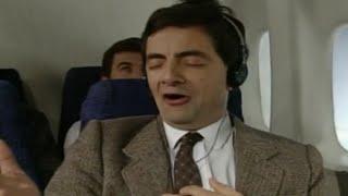 Im Flugzeug mit Mr Bean
