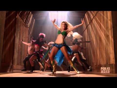 GLEE - Brittany as Britney Spears - I'm a Slave 4 U - S02E02: