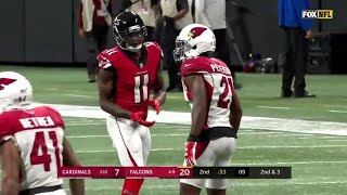 Julio Jones vs Patrick Peterson (2018) | WR vs CB Matchup