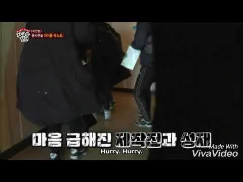 When Seong Jae cleaned BTOB dorm and 'make over' Eun Kwang room (Master's House)