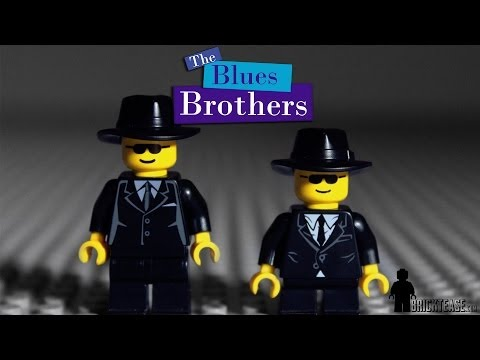 "This Iconic ""blues Brothers"" Scene Gets The Lego T"
