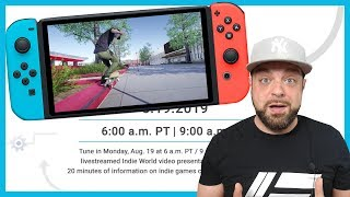 TONS of NEW Switch Games REVEALED! Nintendo Indie World REACTION!