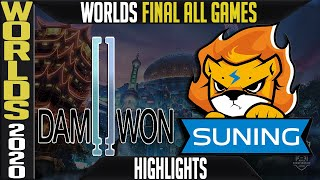 DWG vs SN Highlights ALL GAMES | GRAND FINAL Worlds 2020 Playoffs | Damwon Gaming vs Suning