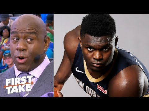 Magic Johnson explains why Zion Williamson will not be a NBA All-Star this season | First Take