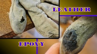 Epoxy for Leather Glove Repair? Test result: ★★★½