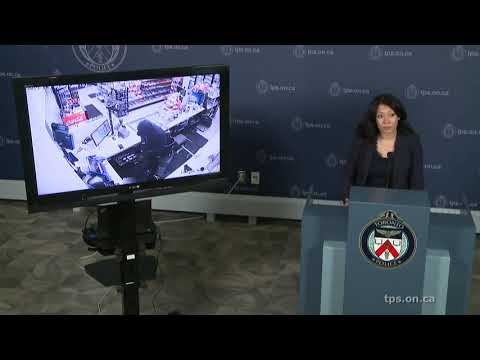 Toronto Police Hold Up Gas Station Robbery LiveStream Wed Ju...