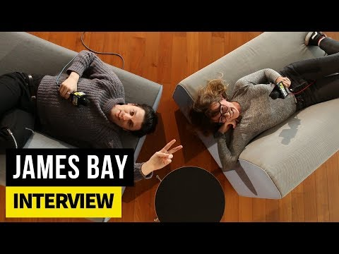 James Bay lies down with The Edge's Carly Meyers
