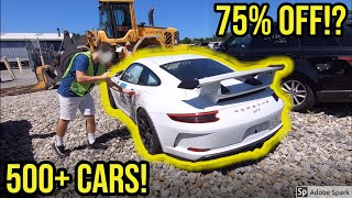 Copart: Auto Auction Rebuild projects for all budgets! Porsche, Maserati, Dodge, Mercedes Etc