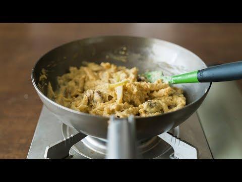 Hummus Pasta (vegan/GF) ☆ フムスパスタ