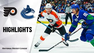 Flyers @ Canucks 10/12/19 Highlights
