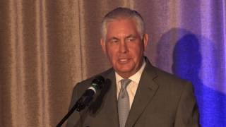 Rex Tillerson Keynote Address