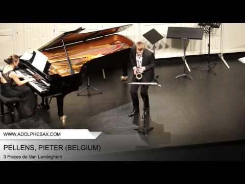 Dinant 2014 - PELLENS, Pieter (3 Pieces de Van Landeghem)