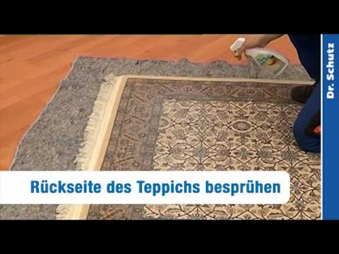 teppich stopp anti rutsch spray youtube. Black Bedroom Furniture Sets. Home Design Ideas