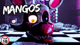 Top 10 Scary FNAF Mangle Facts