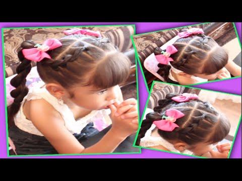 Peinado Con Ligas Para Ninas Facil Bonito Y Rapido Videomoviles Com