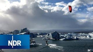 Island: Kitesurfen durch die Gletscher   360 Grad   NDR Doku