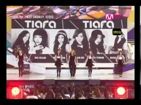 [데뷔첫방] 090730 티아라 (T-ARA) - 거짓말 (Lie) @ Mcountdown Debut Stage