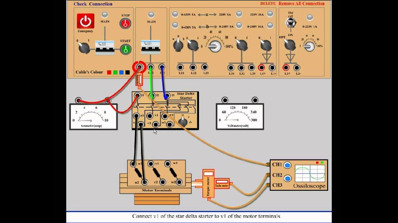 Star Delta Wiring Diagram Star Delta Wiring Diagram Star Delta Motor