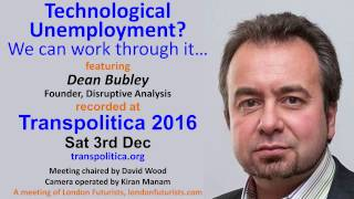 Technological unemployment - we can work through it