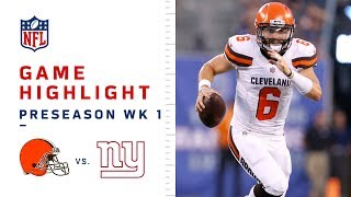 Baker Mayfield's First NFL TD Drive!