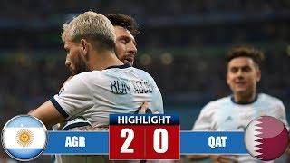 Argentina vs Qatar 2-0 Highlights & Goals | Resumen y Goles (23/06/2019)