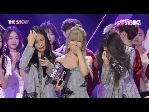 T-ara Comeback & Winning Stage The Show (6/20/2017)
