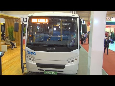 Otokar Sultan City Bus (2016) Exterior and Interior in 3D