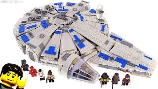 LEGO Star Wars Kessel Run Millennium Falcon review! 75212