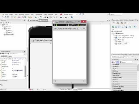 Mobile Web Browser with C++Builder XE6