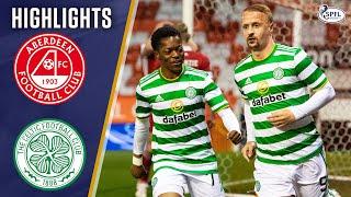 Aberdeen 1-1 Celtic | Griffiths Scores Last-Gasp Header to Rescue Point! | Scottish Premiership