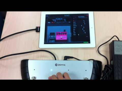 AmpKit controlled by Griffin StompBox footswitch