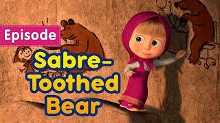 Máša a Medveď - Šabľozubý medveď - SK