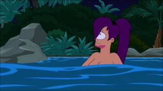Amy and Leela from Futurama. Naked and sexy Scenes.