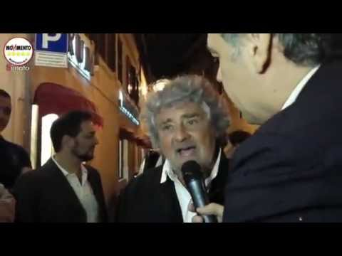 Beppe Grillo intervista OccupyRai