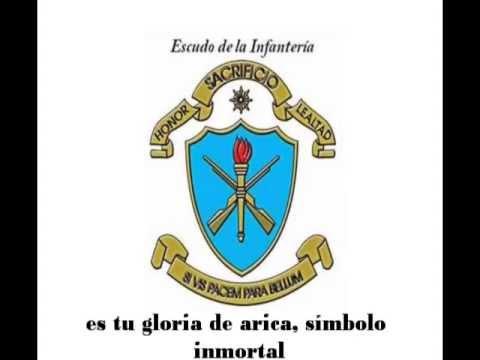 HIMNO DE INFANTERÍA - EJERCITO DEL PERÚ (LETRA)