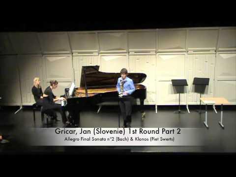 Gricar, Jan (Slovenie) 1st Round Part 2