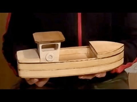 Wood Toy Plans Stojanovic Fishing Boat Youtube