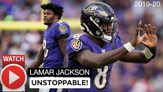 Lamar Jackson BEST Highlights of 2019-20 Season (Part1)