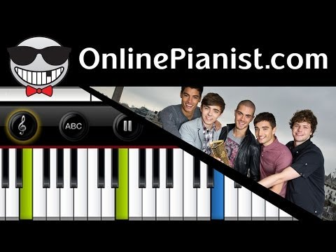 Baixar The Wanted - Show Me Love (America) - Piano Tutorial