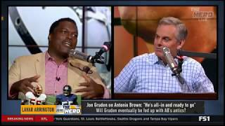 [HOT] Arrington live to tell Colin if Baker has put an unnecessary target on Browns | THE HERD 8/21