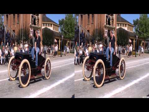 Karl Benz Patentwagen Replica in Motion - CarsInDepth.com 3D Video