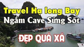 Ngắm Cave Sửng Sốt đẹp hút hồn   Travel Halong Bay Vietnam ☆ Tuan Duong Sài Gòn Ngày nay