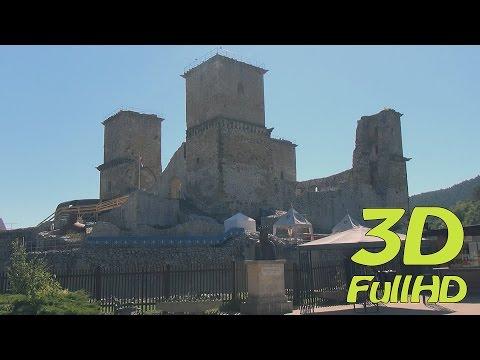[3DHD] Castle of Diosgyor, Miskolc, Hungary / Diósgyőri vár, Miskolc, Magyarország / Zamek Diosgyor