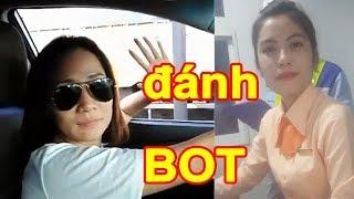 HOT || Nữ tướng Phương Ngô lại xuất hiện khiến BOT Cai Lậy 4/12/2017 phải xả trạm