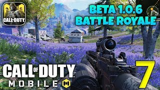 CALL OF DUTY MOBILE - New Beta 1.0.6 Gameplay - Battle Royale Mode