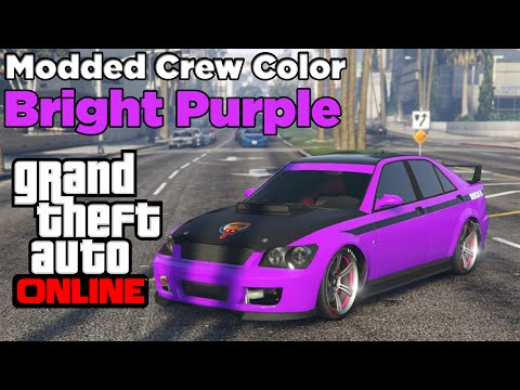 Gta 5 Online Modded Crew Colors Gta 5 Online New Modded Crew