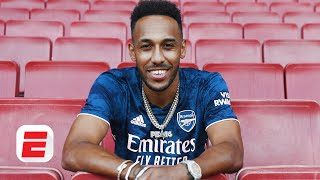 Is Arsenal's Aubameyang taking the EASY WAY OUT with his 3-year extension? | ESPN FC
