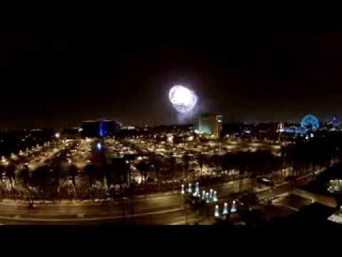 Drone Disney Fireworks