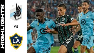 HIGHLIGHTS: Minnesota United FC vs. LA Galaxy | September 18, 2021